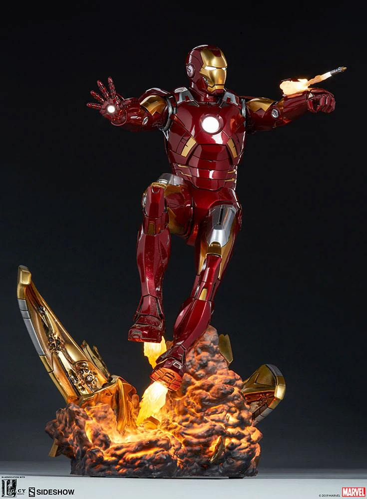 Statue The Avengers Iron Man Mark VII 54cm 1001 fIGURINES (10)