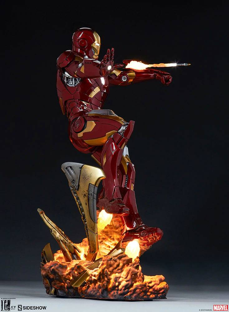 Statue The Avengers Iron Man Mark VII 54cm 1001 fIGURINES (11)