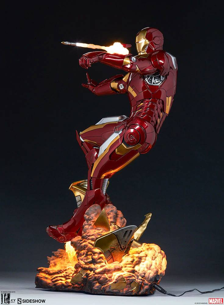 Statue The Avengers Iron Man Mark VII 54cm 1001 fIGURINES (13)