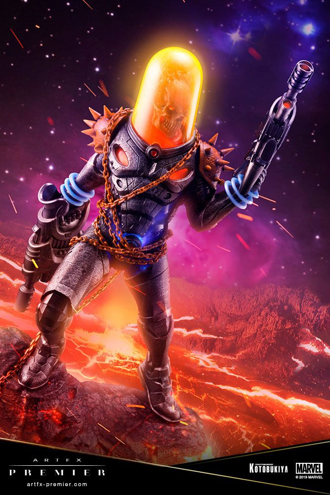 Statuette Marvel Universe ARTFX Premier Cosmic Ghost Rider 22cm 1001 Figurines (2)
