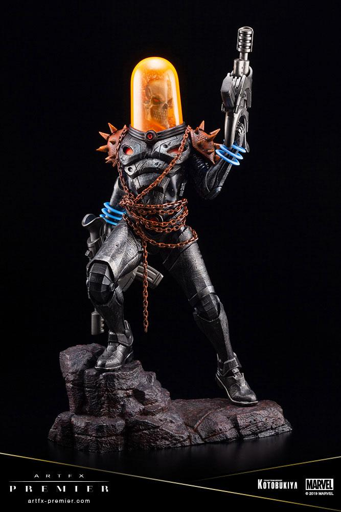 Statuette Marvel Universe ARTFX Premier Cosmic Ghost Rider 22cm 1001 Figurines (5)