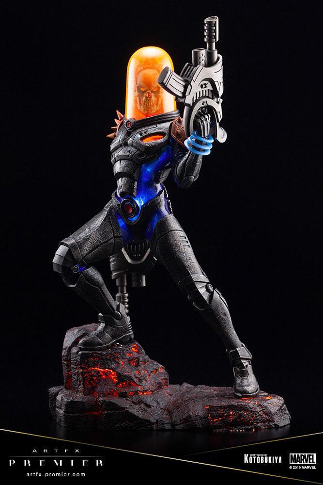 Statuette Marvel Universe ARTFX Premier Cosmic Ghost Rider 22cm 1001 Figurines (14)