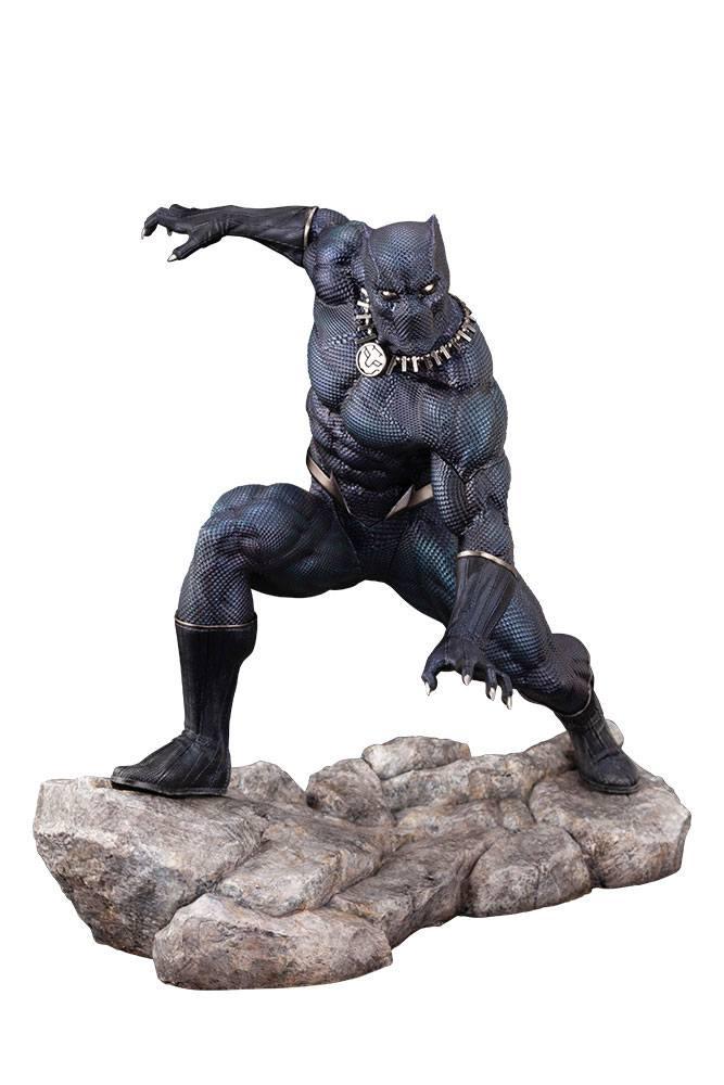 Statuette Marvel Universe ARTFX Premier Black Panther 16cm 1001 figurines (6)