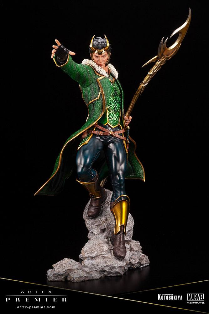Statuette Marvel Universe ARTFX Premier Loki 28cm 1001 figurines (1)