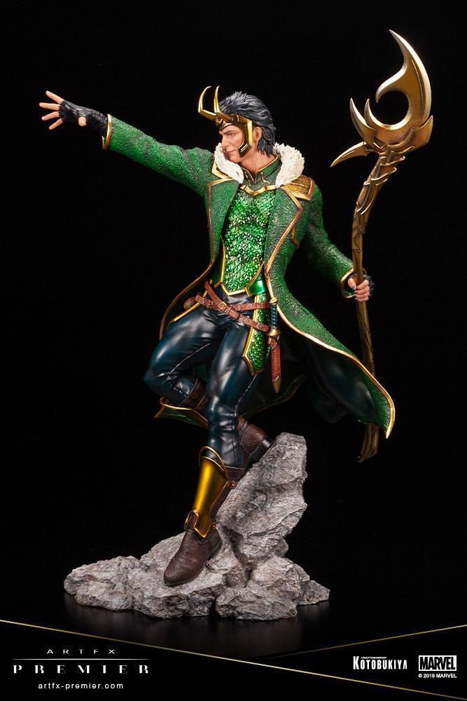 Statuette Marvel Universe ARTFX Premier Loki 28cm 1001 figurines (6)