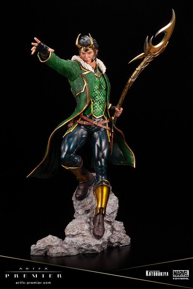 Statuette Marvel Universe ARTFX Premier Loki 28cm 1001 figurines (7)
