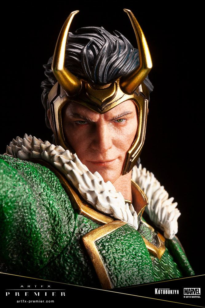 Statuette Marvel Universe ARTFX Premier Loki 28cm 1001 figurines (8)