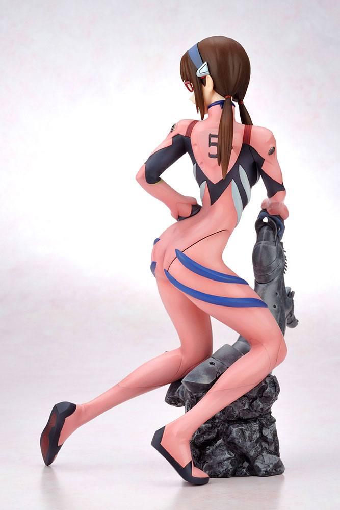 Statuette Rebuild of Evangelion Mari Makinami Illustrious Plugsuit Ver.RE 24cm 1001 Figurines (3)