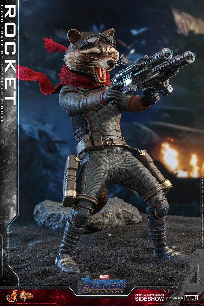 Figurine Avengers Endgame Movie Masterpiece Rocket 16cm 1001 Figurines (2)
