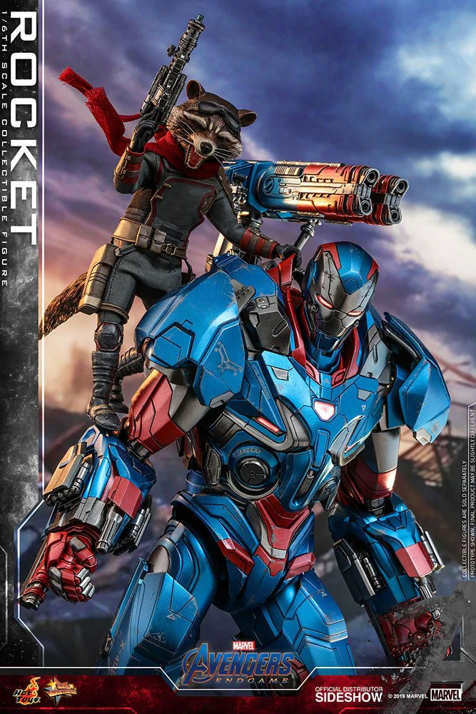 Figurine Avengers Endgame Movie Masterpiece Rocket 16cm 1001 Figurines (6)