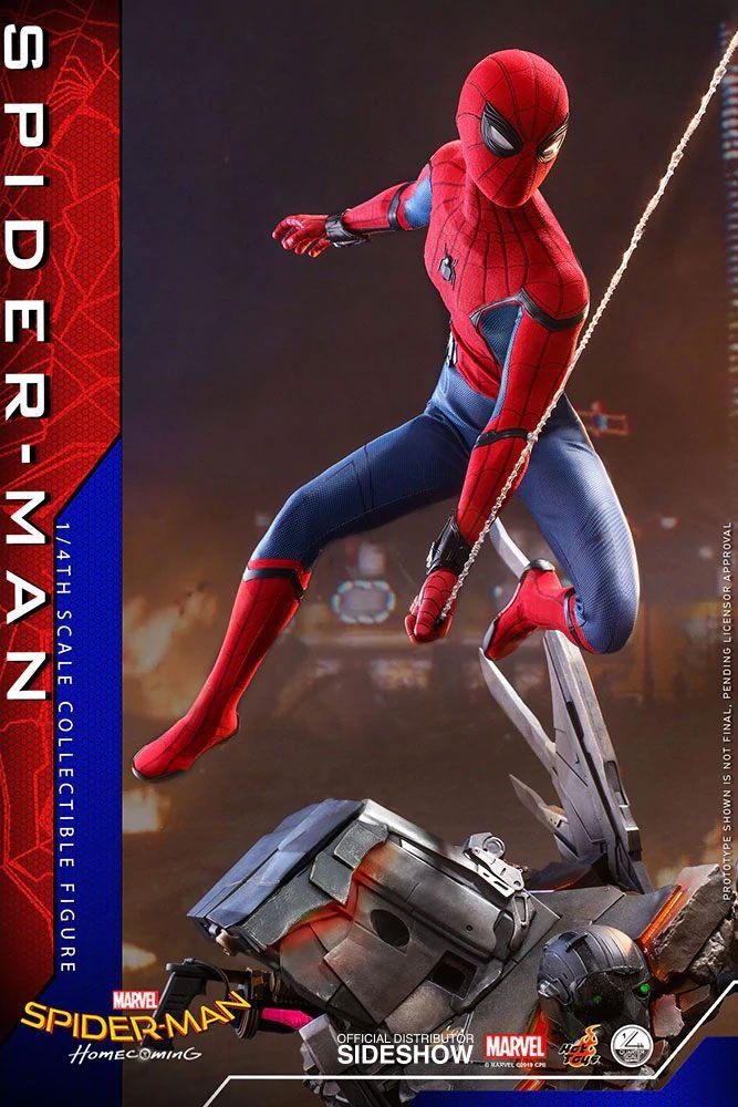 Figurine Spider-Man Homecoming Quarter Scale Series Spider-Man 44cm