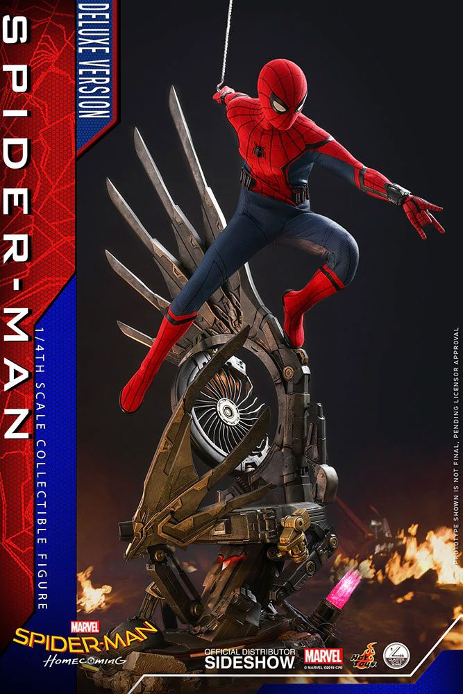 Figurine Spider-Man Homecoming Quarter Scale Series Spider-Man Deluxe Version 44cm 1001 Figurines (1)