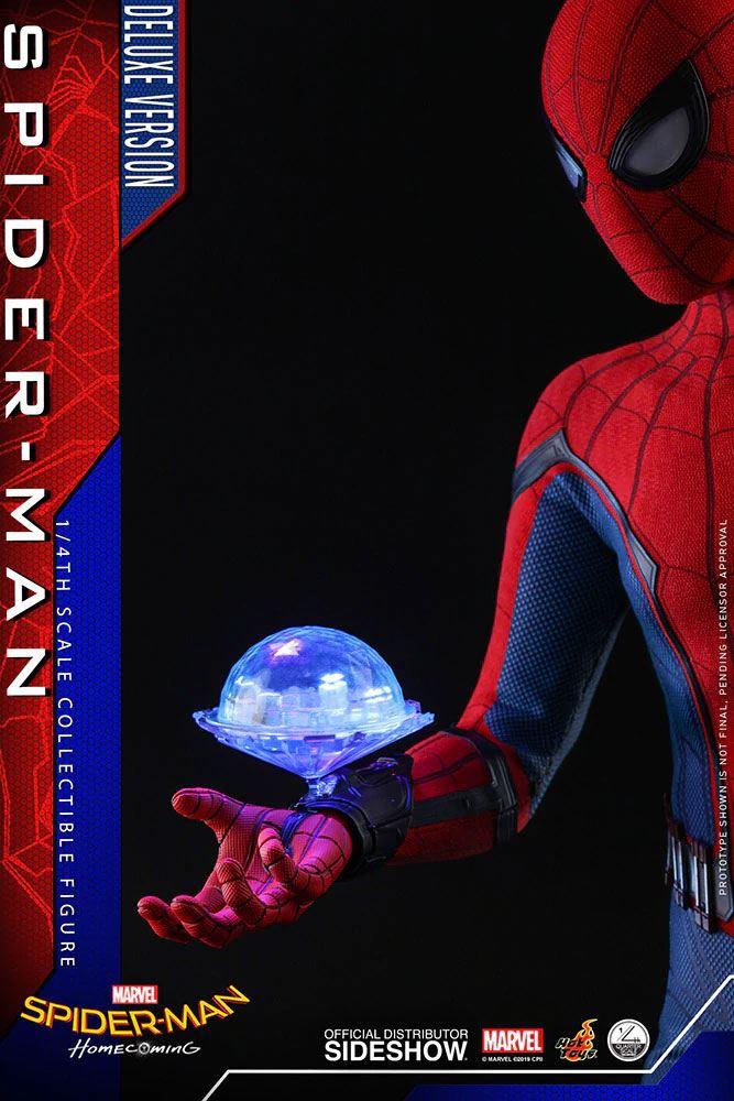 Figurine Spider-Man Homecoming Quarter Scale Series Spider-Man Deluxe Version 44cm 1001 Figurines (9)