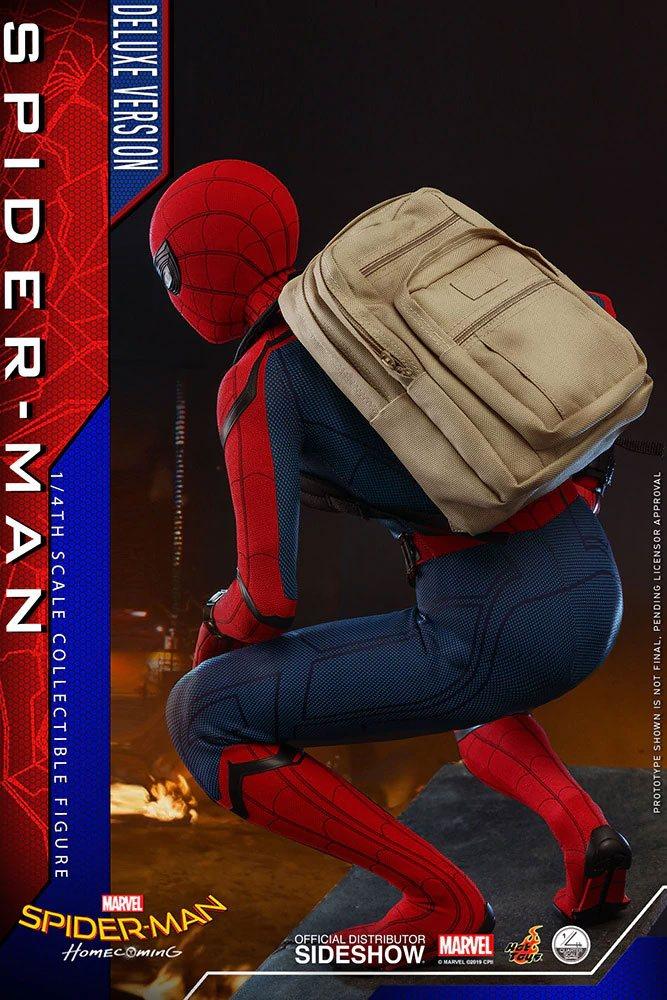 Figurine Spider-Man Homecoming Quarter Scale Series Spider-Man Deluxe Version 44cm 1001 Figurines (10)