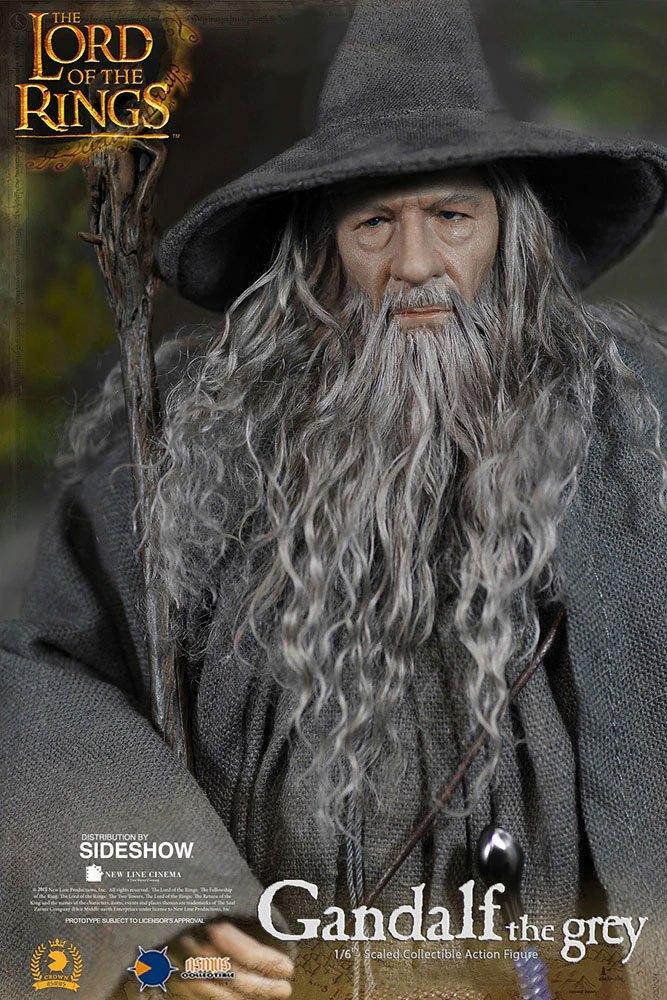 Figurine Le Seigneur des Anneaux Gandalf 32cm 1001 Figurines (4)