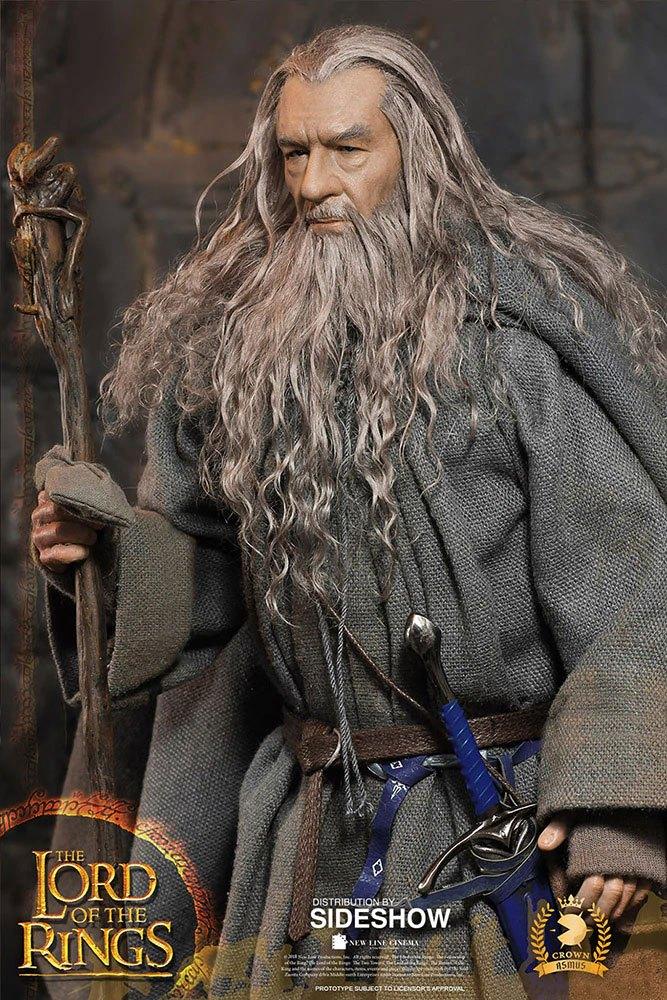 Figurine Le Seigneur des Anneaux Gandalf 32cm 1001 Figurines (6)