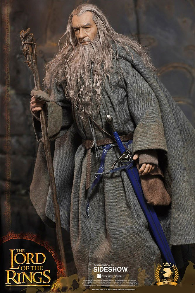 Figurine Le Seigneur des Anneaux Gandalf 32cm 1001 Figurines (9)