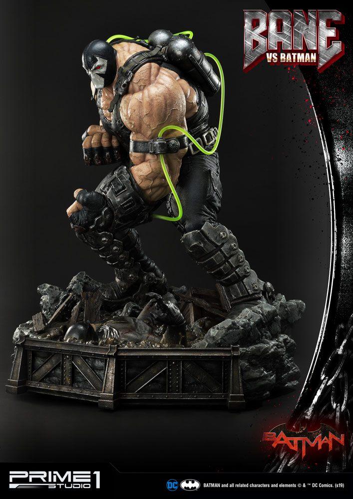 Statue DC Comics Bane VS Batman 83cm 1001 Figurines (2)