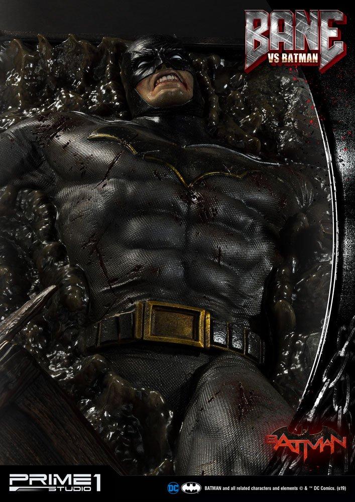 Statue DC Comics Bane VS Batman 83cm 1001 Figurines (9)