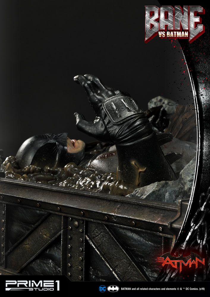 Statue DC Comics Bane VS Batman 83cm 1001 Figurines (10)