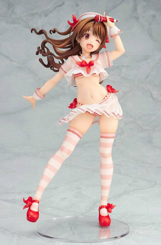 Statuette The Idolmaster Cinderella Girls Uzuki Shimamura Hajikete Summer Ver. 22cm 1001 figurines (4)
