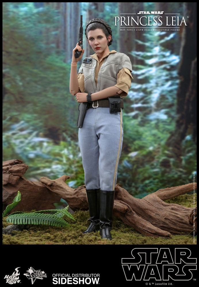 Figurine Star Wars Episode VI Movie Masterpiece Princess Leia 27cm 1001 Figurines (5)