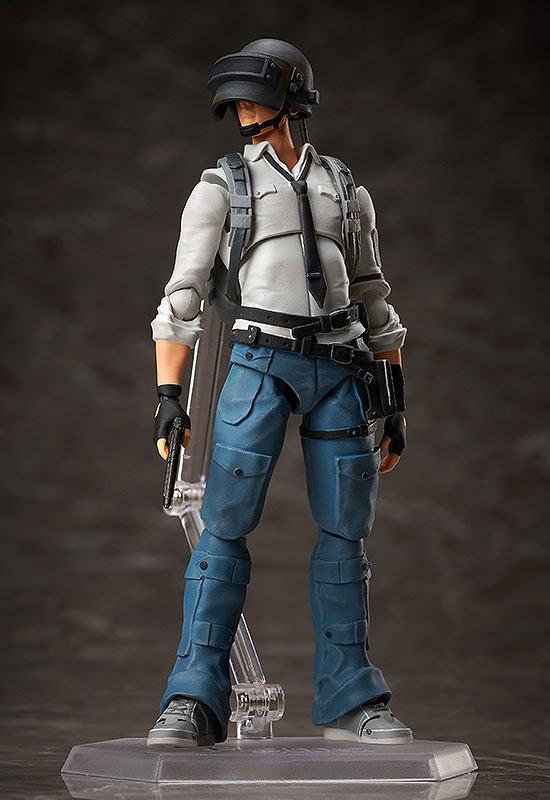 Figurine Figma Playerunknowns Battlegrounds PUBG The Lone Survivor 15cm 1001 Figurines (2)
