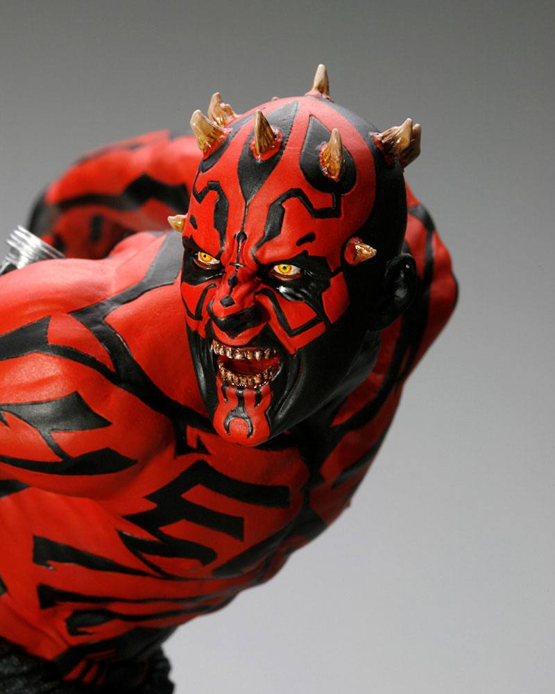 Statuette Star Wars ARTFX Darth Maul Japanese Ukiyo-E Style Light-Up Edition 28cm 1001 Figurines (6)