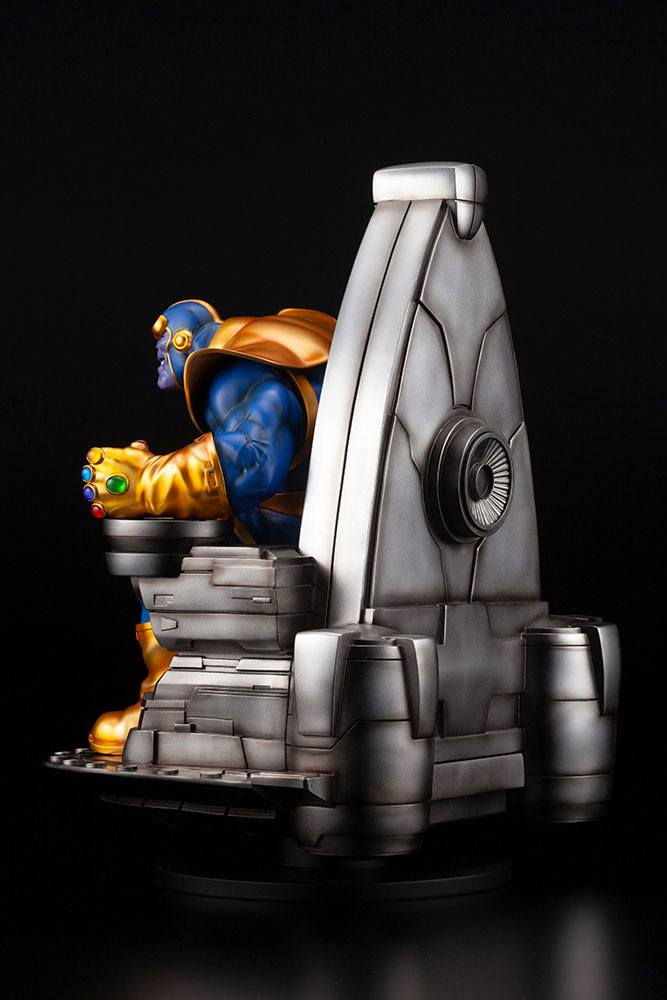 Statuette Marvel Fine Art Thanos on Space Throne 45cm 1001 Figurines (6)