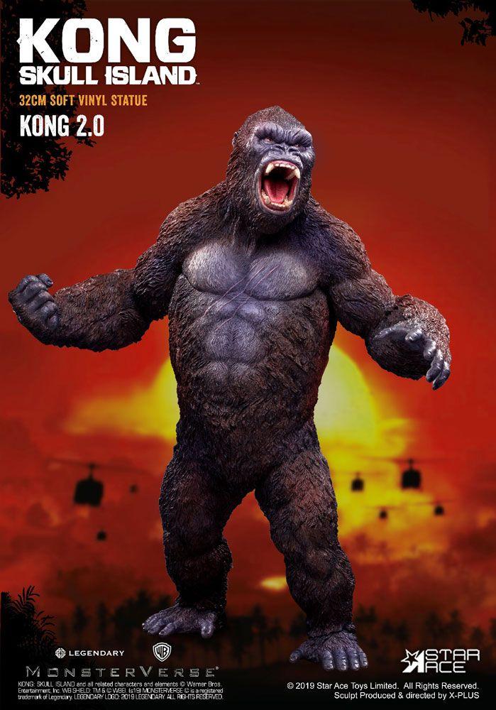 Statuette Kong Skull Island Soft Vinyl Kong 2.0 - 32cm 1001 Figurines (1)