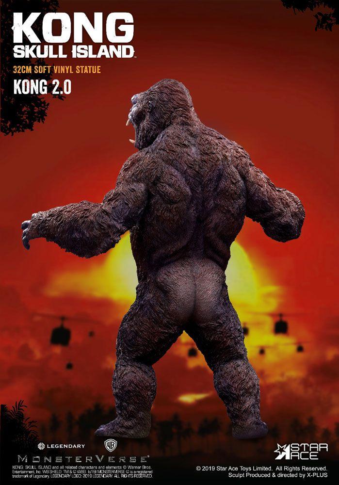 Statuette Kong Skull Island Soft Vinyl Kong 2.0 - 32cm 1001 Figurines (2)