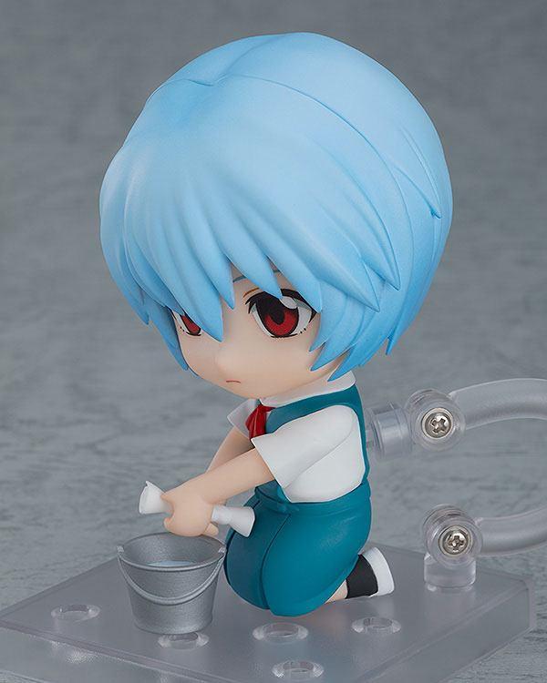 Figurine Nendoroid Rebuild of Evangelion Rei Ayanami 10cm 1001 figurines  (2)