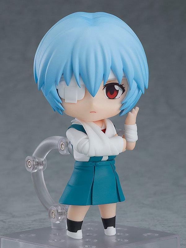 Figurine Nendoroid Rebuild of Evangelion Rei Ayanami 10cm 1001 figurines  (4)