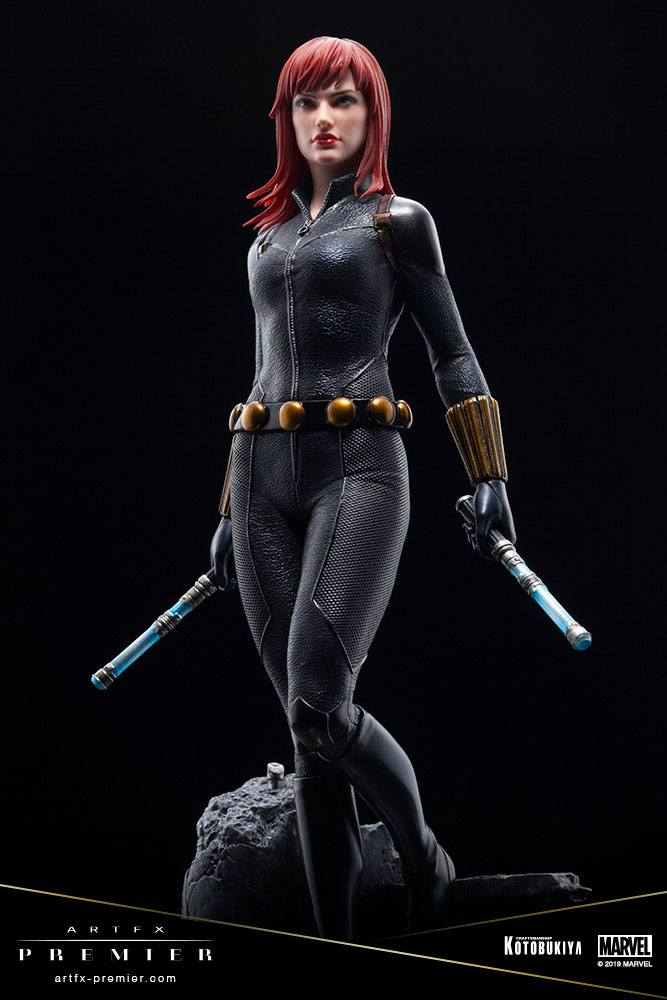Statuette Marvel Universe ARTFX Premier Black Widow 21cm 1001 Figurines (11)