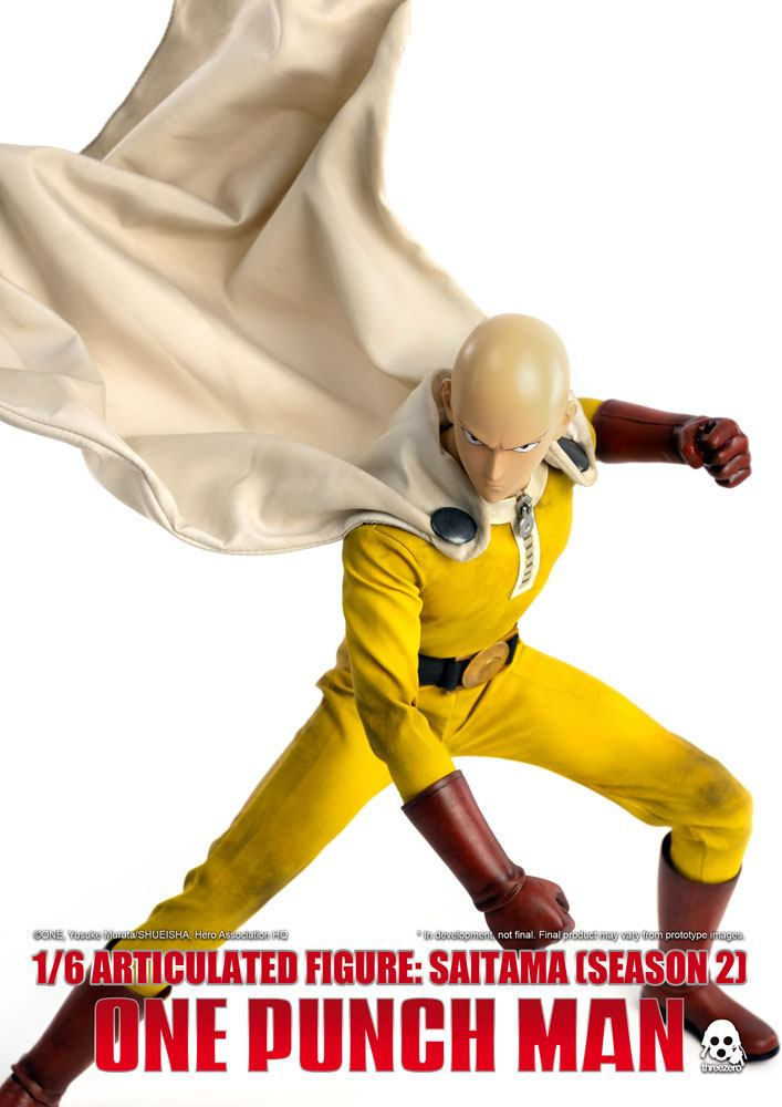 Figurine One Punch Man Saitama Saison 2 - 30cm 1001 FIGURINES (6)