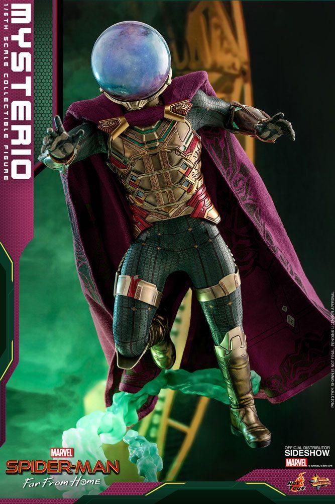 Figurine Spider-Man Far From Home Movie Masterpiece Mysterio 30cm  1001 Figurines (13)