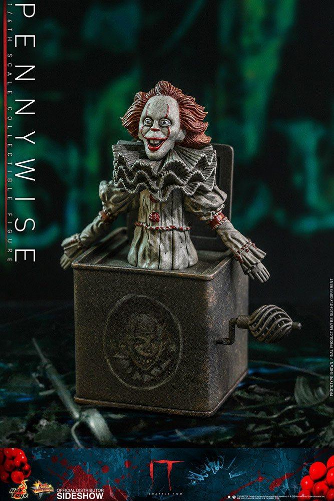 Figurine Ça Chapitre 2 Movie Masterpiece Pennywise 32cm 1001 Figurines (6)