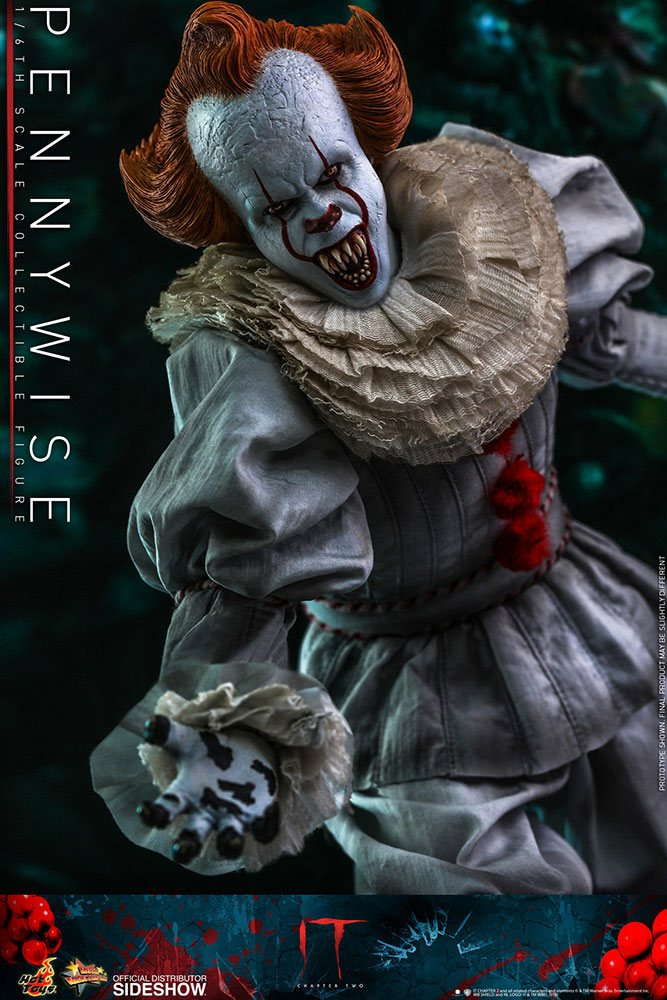 Figurine Ça Chapitre 2 Movie Masterpiece Pennywise 32cm 1001 Figurines (7)