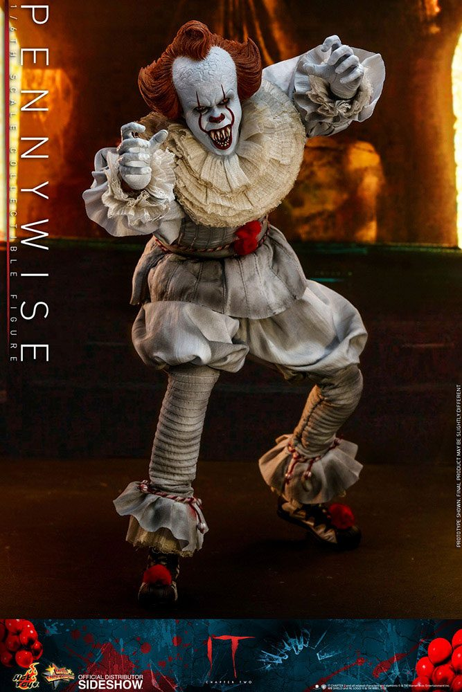 Figurine Ça Chapitre 2 Movie Masterpiece Pennywise 32cm 1001 Figurines (10)