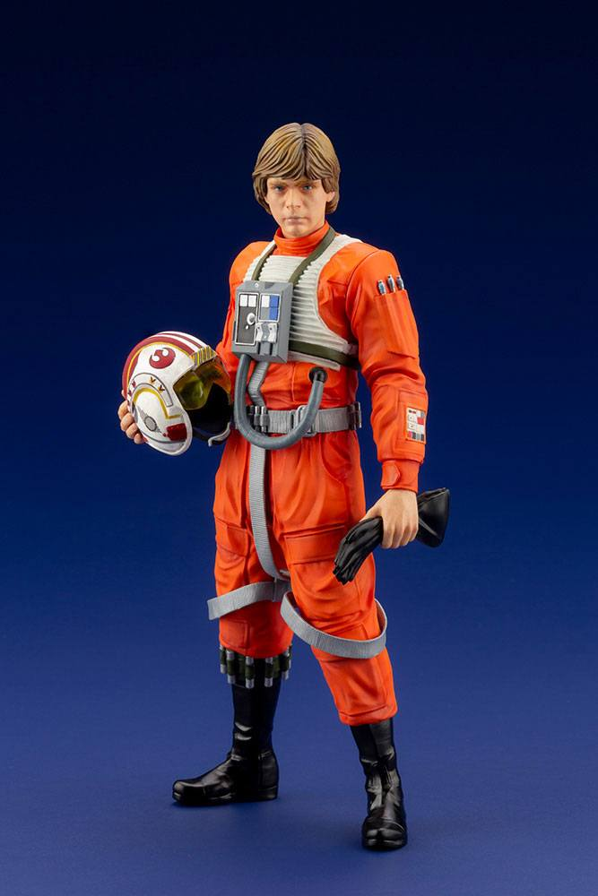 Statuette Star Wars ARTFX+ Luke Skywalker X-Wing Pilot 17cm 1001 Figurines (1)