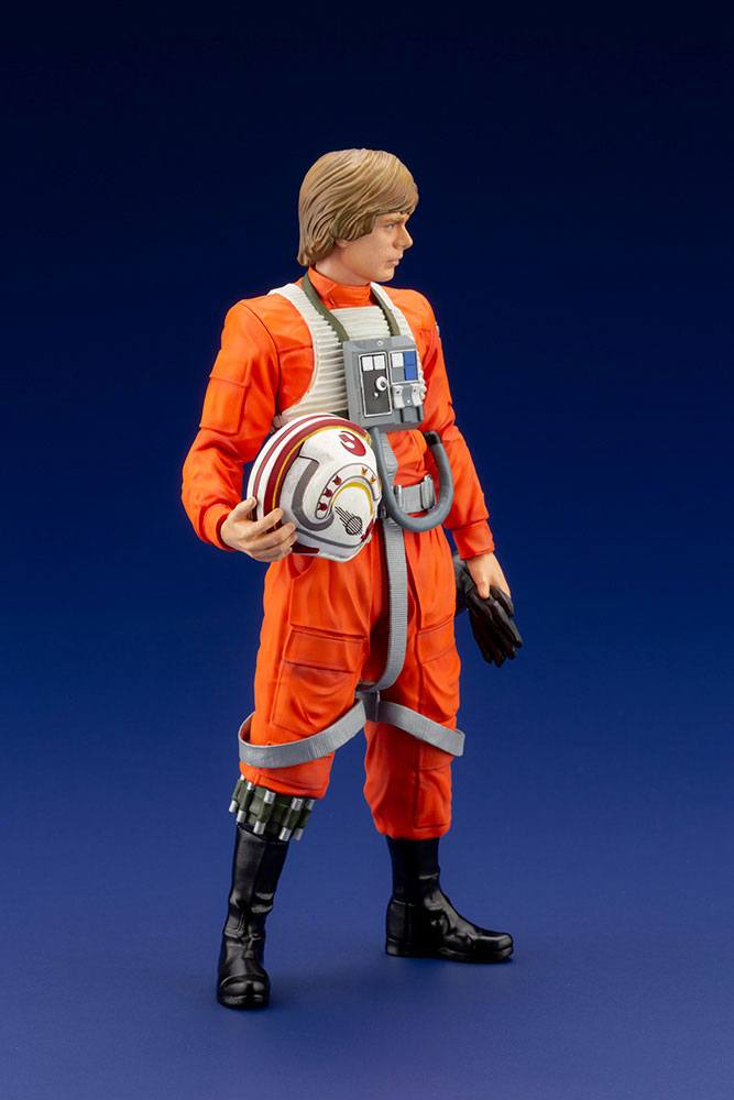 Statuette Star Wars ARTFX+ Luke Skywalker X-Wing Pilot 17cm 1001 Figurines (4)