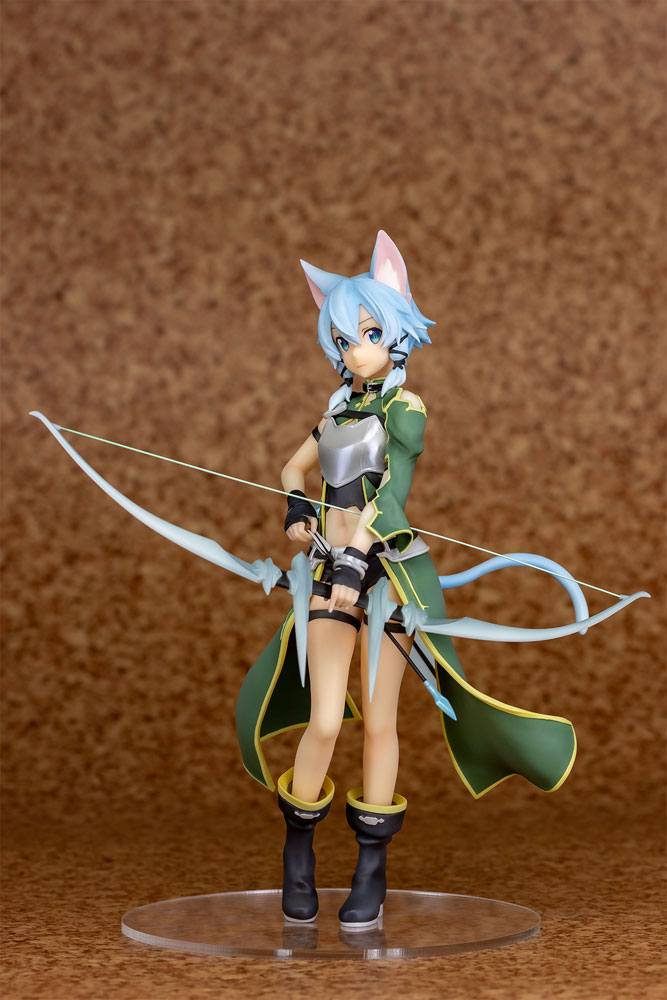 Statuette Sword Art Online II Sinon ALO Ver. 21cm 1001 Figurines (10)