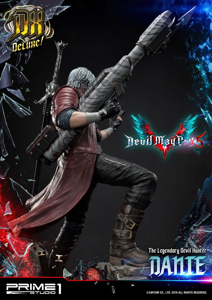 Statue Devil May Cry 5 Dante Deluxe Ver. 74cm 1001 Figurines (8)