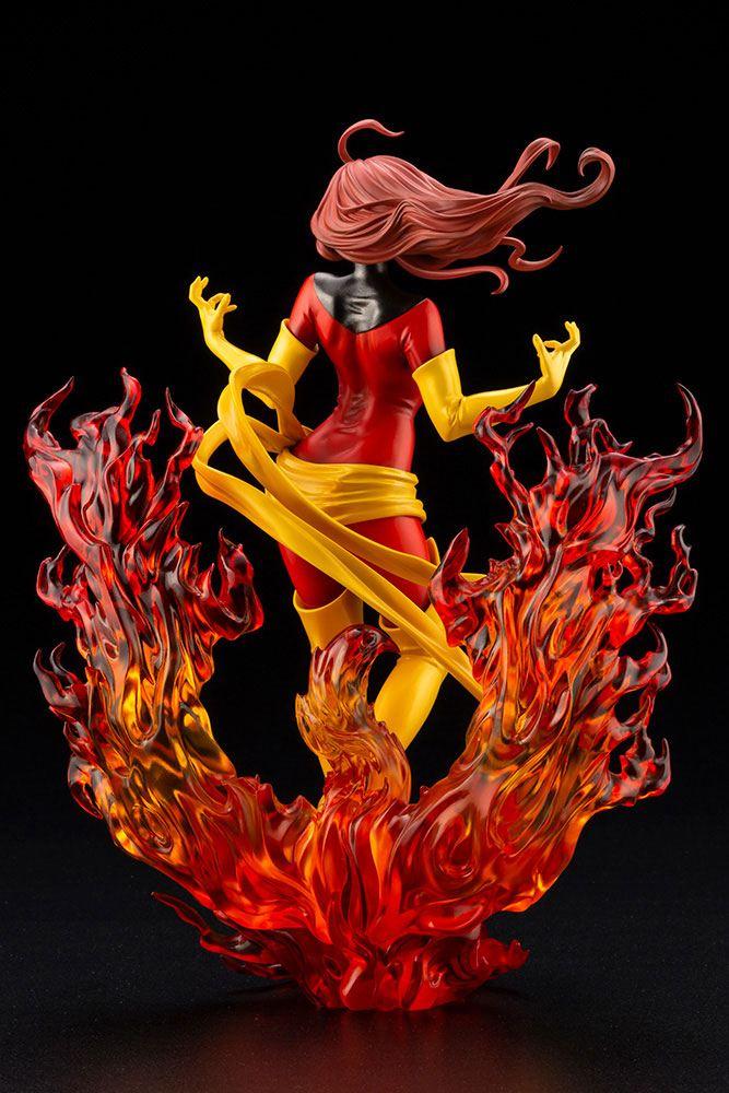 Statuette Marvel Bishoujo Dark Phoenix Rebirth 23cm 1001 Figurines (4)