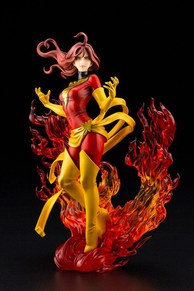 Statuette Marvel Bishoujo Dark Phoenix Rebirth 23cm 1001 Figurines (6)