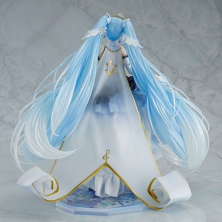 Statuette Character Vocal Series 01 Snow Miku Snow Princess Ver. 23cm 1001 Figurines (3)