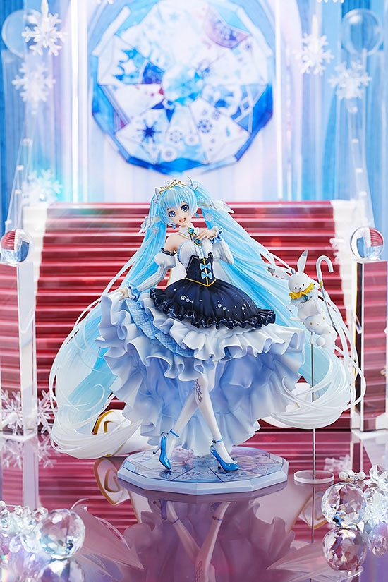 Statuette Character Vocal Series 01 Snow Miku Snow Princess Ver. 23cm 1001 Figurines (6)