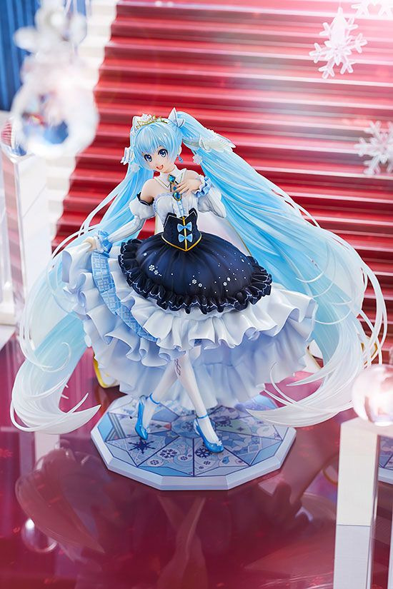 Statuette Character Vocal Series 01 Snow Miku Snow Princess Ver. 23cm 1001 Figurines (8)