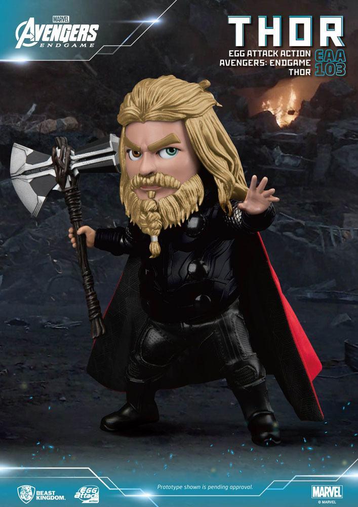 Figurine Avengers Endgame Egg Attack Thor 17cm 1001 figurines (1)