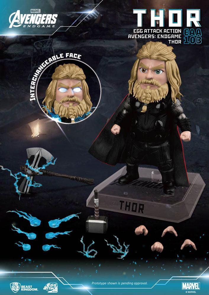 Figurine Avengers Endgame Egg Attack Thor 17cm 1001 figurines (5)